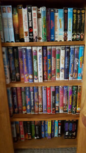 100 VHS videos for sale - $30 for all