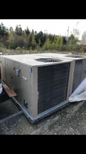 H-vac 5 ton package A/C unit