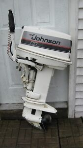 20HP Johnson Outboard Motor