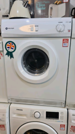 White Knight 7kg vented dryer refurbished with warranty ready to go
