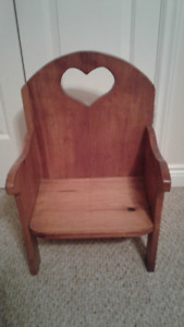 Child Sized Custom Chair