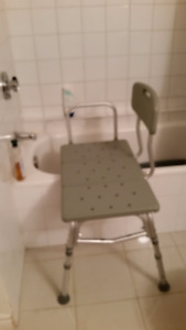 Bath Bench for Disabled or Elderly Person