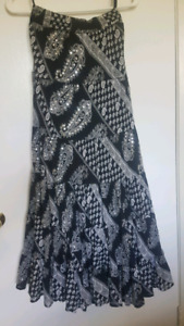 Long country style skirt