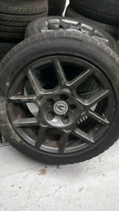 2OO8 Acura TL TYPE S  RIMS & WINTER TIRES