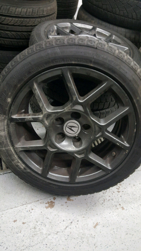 OO Acura TL TYPE S RIMS WINTER TIRES Cars Trucks Hamilton - Acura tl type s rims