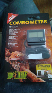 Not opened. Reptile combometer. Temperature/humidity