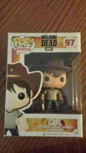 The Walking Dead Collectable Pop Figures, never out of the box