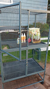 Ferret Cage, Food and Grooming Products
