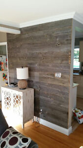 Barn Board Accent Walls - Reclaimed Accent Walls Kitchener / Waterloo Kitchener Area image 10
