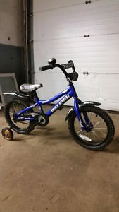 "16"" rally boys bike for sale"