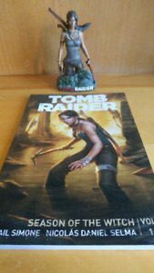 Tomb raider bust and tpb