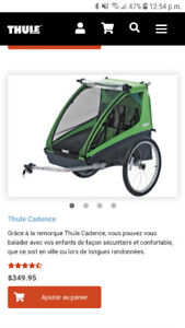 Chariot Thule double