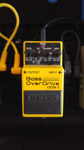 Boss bass overdrive
