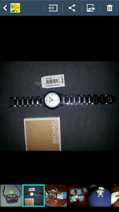 Authentic mk silver watch