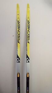 Fischer RCS Skate Skis 187 with Salomon Bindings