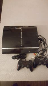 Play Station 3 with 2 controllers