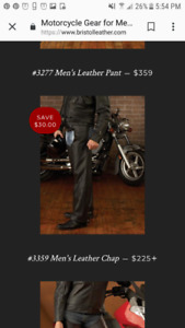 2 pairs of Bristol Mens Med Chaps