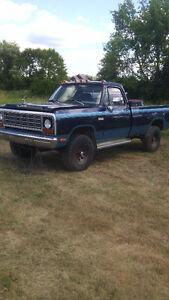 1979 Dodge Power Ram 2500 Pickup Truck
