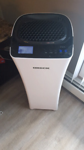 Oreck air purifier and humidifier