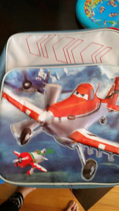 Disney cars and planes backpacks, lunchbox