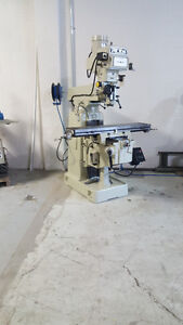 fraiseuse /milling top well  10 x 50