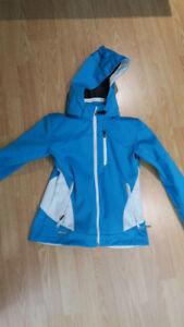 Manteau bleu pour femme grandeur small / petit (soft shell)