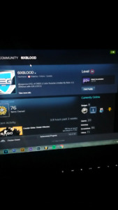 Steam account for sale!!!(STILL AVAILABLE)