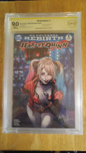 Cbcs comic signed Ashely witter 9.0