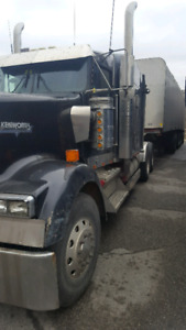Truck and trailer for sale