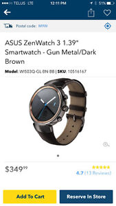 """Brand new ZenWatch 3 1.39"""" SmartWatch only $250 firm. Save $100"""