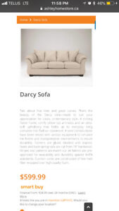 ASHLEY FURNITURE -- Darcy Loveseat + Sofa
