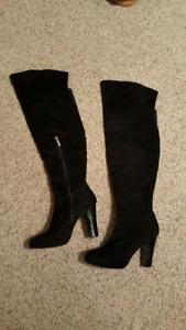 Kardashian Over the Knee Boots