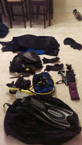 Full set of mens SCUBA gear - everything (except tank) included