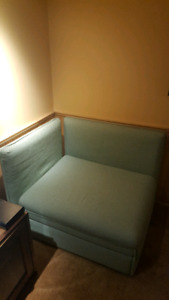 Small Couch/Single Pullout Bed