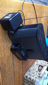 Sony Speaker System and Clock Radio with iPod Dock, Black Stratford Kitchener Area image 4