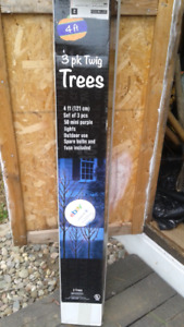 3 pk of 4 ft Twig Trees