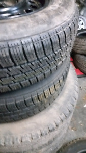 Sets of winter tires