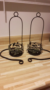 candle holders/sconce