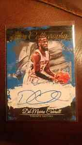 Demarre Carroll Autographed basketball card Kitchener / Waterloo Kitchener Area image 1