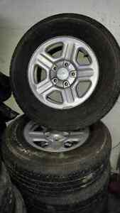TIRES AND RIMS MINT CONDITION  Gatineau Ottawa / Gatineau Area image 1