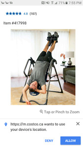 ISO: Inversion Table