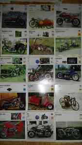 Motorcycle Index Cards - Frame 1 or All 150 cards