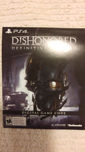 Dishonored: Definitive Edition Digital Code