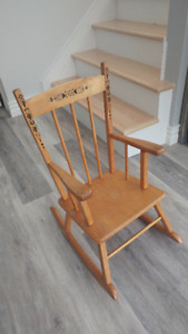 Beautiful Children's Rocking Chair - solid wood