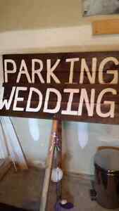 Wedding Signs. Wedding Decorations