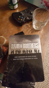 Band of Brothers Mini Series DVD set in Collectors Case