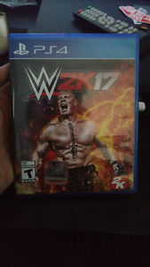 Wwe 2k17 ps4 for trade or sale