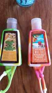 Bath and body works hand sanitizer and body spray