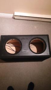 2 12 inch sub box