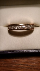 Engagement ring from Ben Moss
